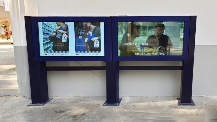 Singapore Police Force – Digital Signage
